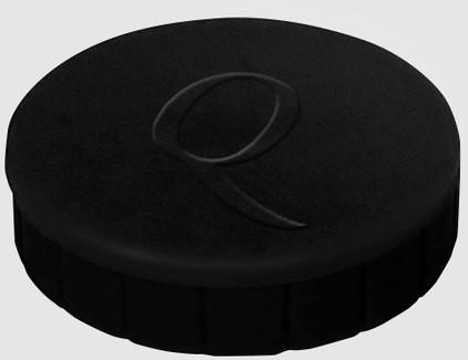 Magneet Quantore 20mm 300gram zwart 10stuks