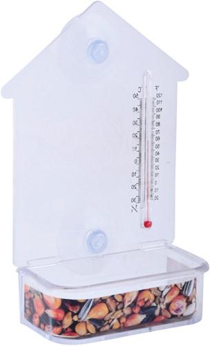 Raam voederhuis met thermometer