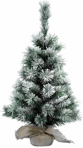 Kerstboom Everlands mini vancouver sneeuw 35cm