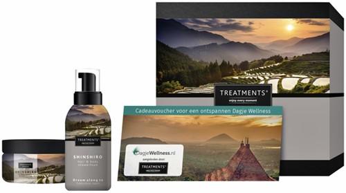 Cadeaubox Treatments Shinshiro set + 1 voucher