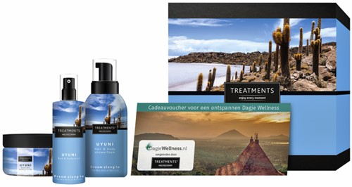 Cadeaubox Treatments Uyuni set + 2 vouchers