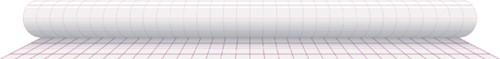 Kaftplastic Boeklon 50cmx25m zelfklevend  transparant