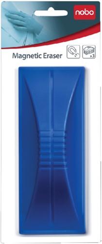 Whiteboardwisser Nobo magnetisch blauw