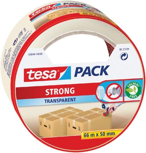 Verpakkingstape Tesa 50mmx66m transparant blister PP