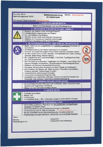 Duraframe Durable 487207 A4 donkerblauw