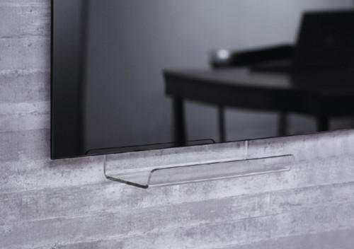 Whiteboard afleggoot Sigel met kleefstrip 170mmx75mmx70mm