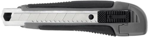 Snijmes Westcott Professional 18mm met schuifsluiting grijs