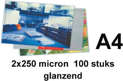 Lamineerhoes GBC A4 2x250micron 100stuks