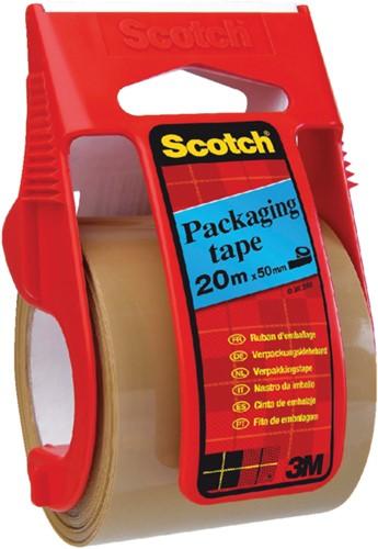 Verpakkingstape Scotch C5020D bruin