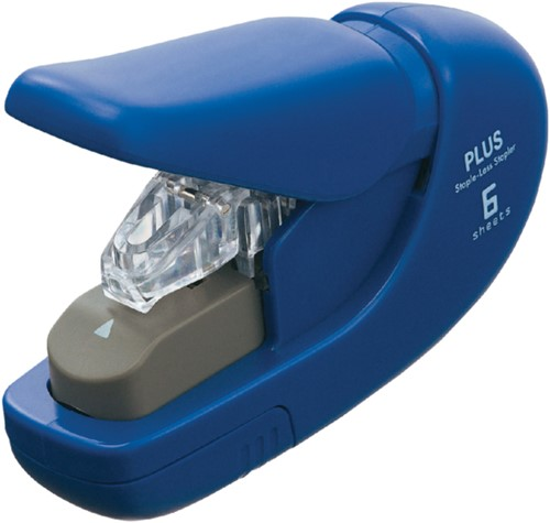 Nietmachine Plus nieten zonder nietjes blauw
