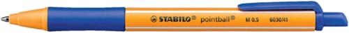 Balpen STABILO Pointball 6030/41 blauw