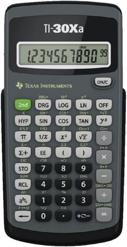 Rekenmachine TI-30XA