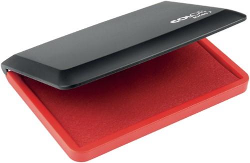 Stempelkussen Colop micro 2 11x7cm rood