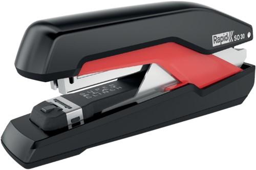 Nietmachine Rapid SO30 Fullstrip 30vel 24/6 zwart/rood