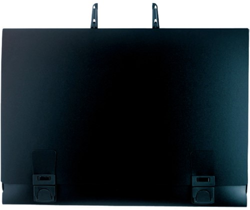 Tekenkoffer Exacompta B2 52x72cm rugbreedte 30mm PP zwart