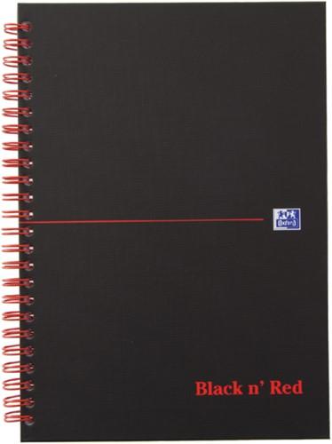 Notitieboek Oxford Black n' Red A4 70v lijn