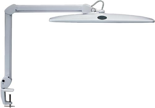 Bureaulamp MAUL Work LED tafelklem dimbaar wit