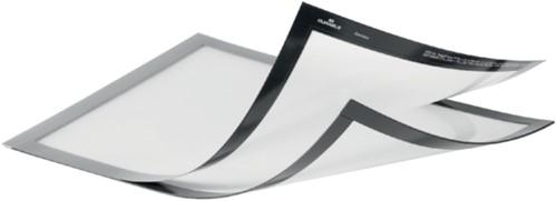 Duraframe Durable 498523 magnetisch Plus A4 zilvergrijs