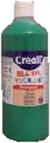 Plakkaatverf Creall Basic 15 middengroen 500ml