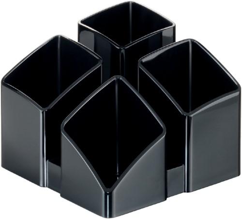 Pennenkoker HAN Scala 4 vaks zwart