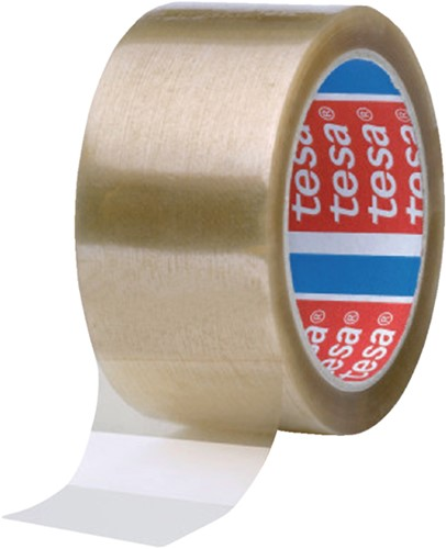 Verpakkingstape Tesa 4089 50mmx66m transparant PP