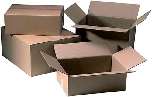 Verzenddoos CleverPack bulk 250x250x250mm bruin 25stuks