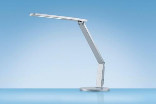 Bureaulamp Hansa led Vario Plus zilvergrijs