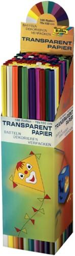 Vliegerpapier folia 70x100cm 42gr assorti