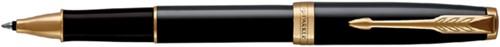 Rollerpen Parker Sonnet black lacquer GT F