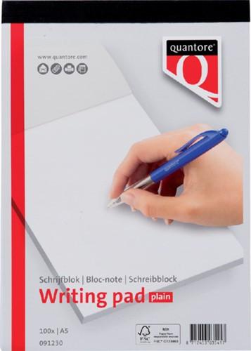 Schrijfblok Quantore A5 blanco