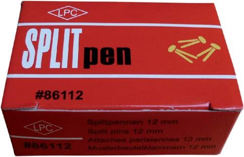 Splitpen LPC 38mm doos 100stuks goud