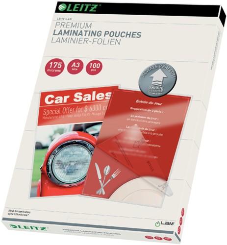 Lamineerhoes Leitz ILAM A3 2x175micron 100stuks