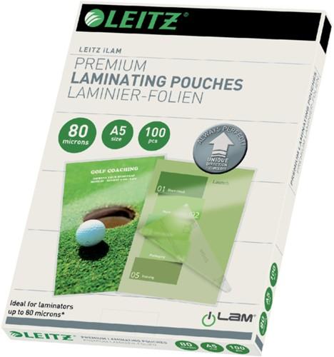 Lamineerhoes Leitz ILAM A5 2x80micron 100stuks