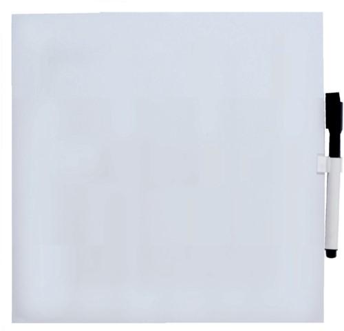 Whitebord Desq 35x35cm magnetisch