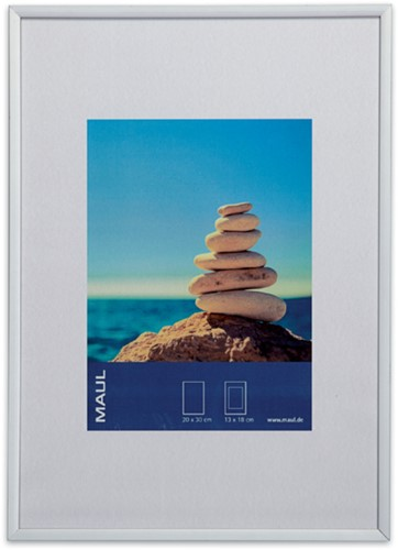 Fotolijst MAUL 21x30cm lijst zilverkleurig