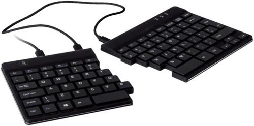 Ergonomisch toetsenbord R-Go Tools Split Qwerty zwart