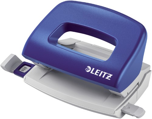 Perforator Leitz NeXXt 5058 2-gaats 10vel blauw