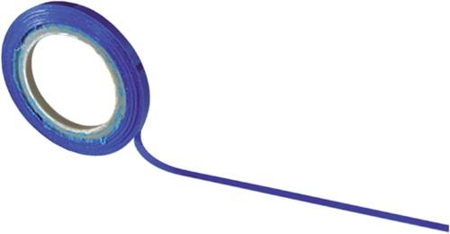 Matrixtape zelfklevend 3mmx10m blauw