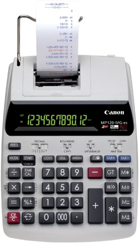 Rekenmachine Canon MP120-MG ESII