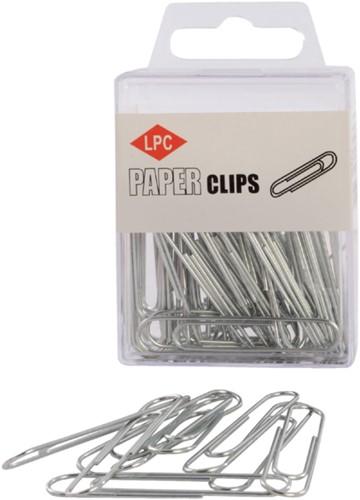 Paperclip LPC 50mm rond 40stuks zilver