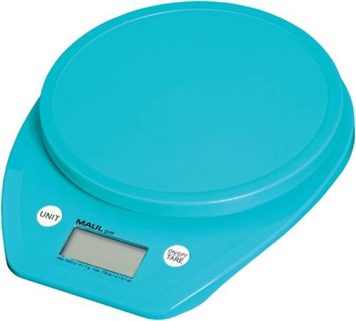 Briefweger MAUL Goal tot 5000 gram blauw incl.batterij