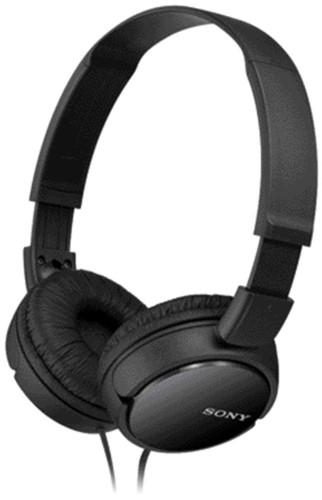 Hoofdtelefoon Sony over ear ZX110 zwart