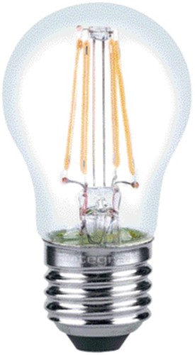 Ledlamp Integral E27 4,5W 2700K warm licht 250lumen dimbaar