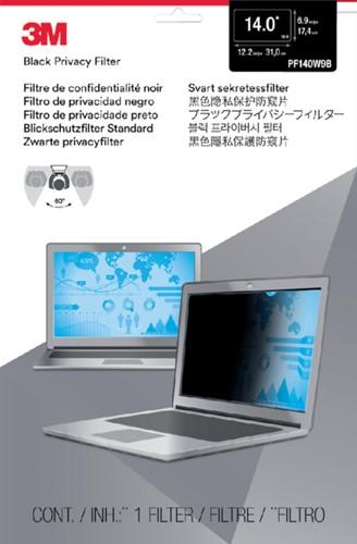 "Privacy filter 3M 14"" breedbeeld 16:9"