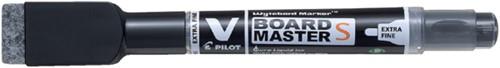 Viltstift Pilot Whiteboard rond 1.3mm +wisser zwart