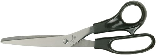 Schaar Quantore 210mm +plastic handvat zwart