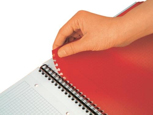 Spiraalblok Oxford International Activebook A5+ gelinieerd