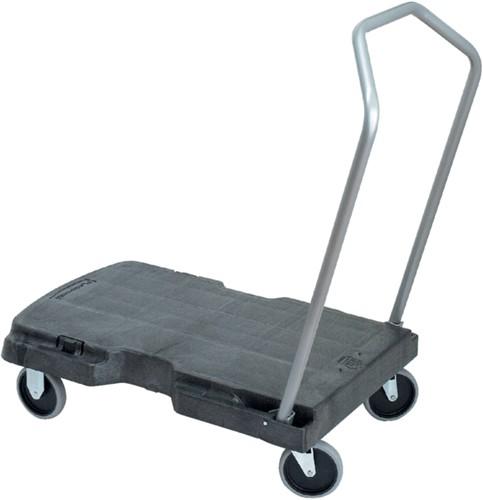 Transportkar Rubbermaid inklapbaar 82.6x52cm zwart tot 181,4kg
