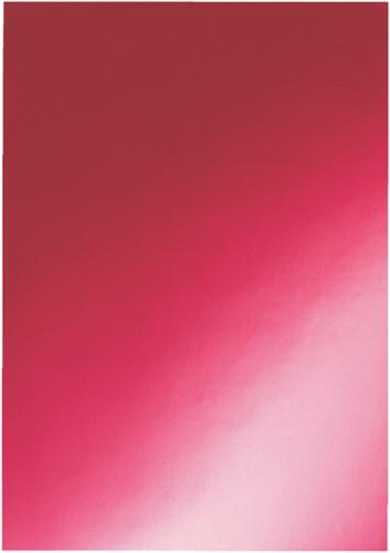 Voorblad GBC A4 chromo karton 250gr rood 100stuks