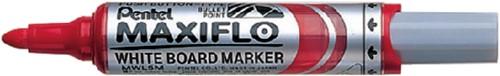 Viltstift Pentel MWL5M Maxiflo whiteboard rood 3mm